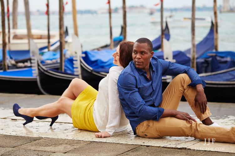 Zagraniczna sesja zdjęciowa - plener w Wenecji.
