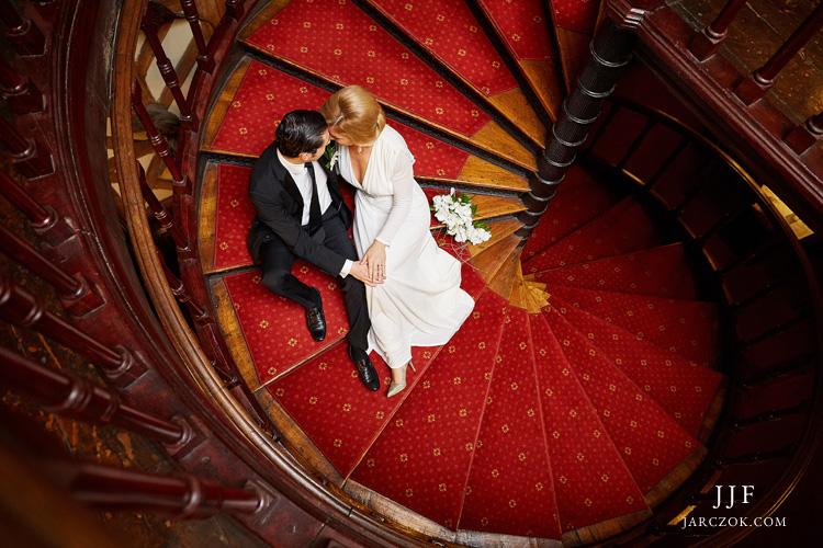 Zdjęcia ślubne w Zameczku Promnice koło Tychów.