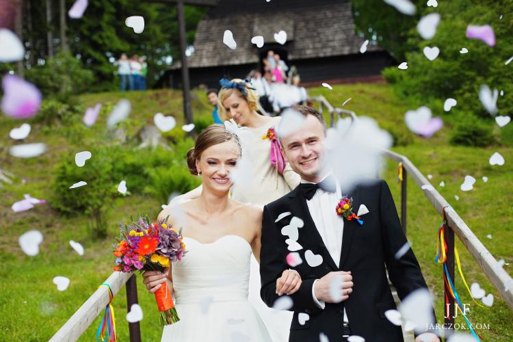 Kościół na Kubalonce, zdjęcia ślubne.