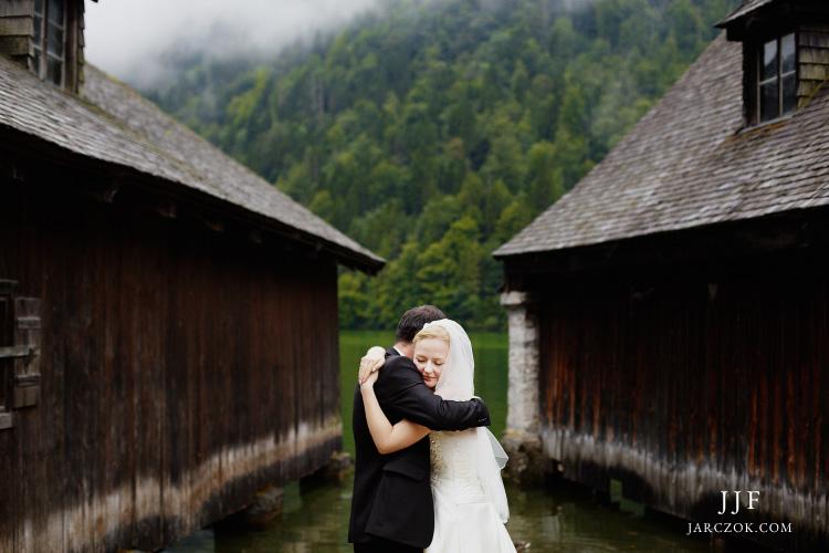 Polacy na zdjęciach ślubnych w Alpach. Zagraniczne sesje plenerowe.