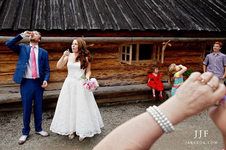Wesele w górach. Profesjonalna fotografia ślubna.