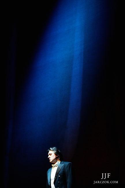 Zdjęcie wykonane w Operze Krakowskiej podczas karnawałowego koncertu tenorów 1