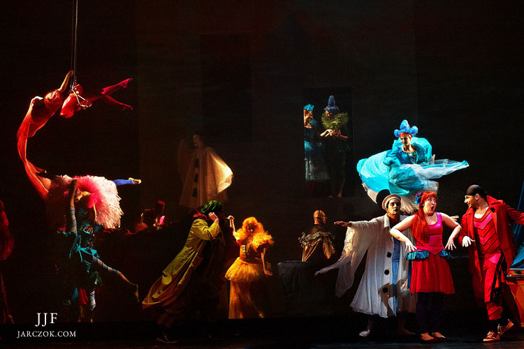 Zdjęcia wykonane podczas spektaklu w Operze Krakowskiej. Jacek Jarczok Fotografia.