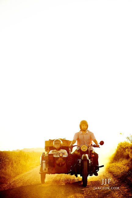 Podróż dookoła świata motorem.