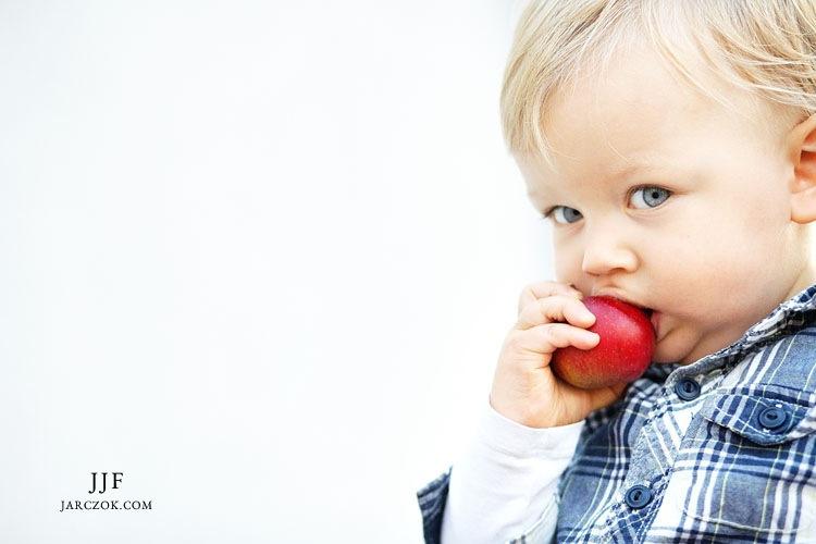 Portret małego dziecka.