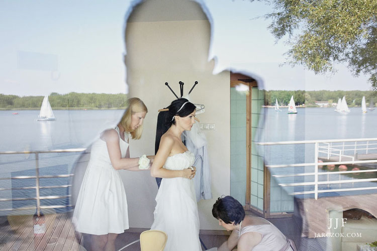 Domek dla młodej pary w villa marina.