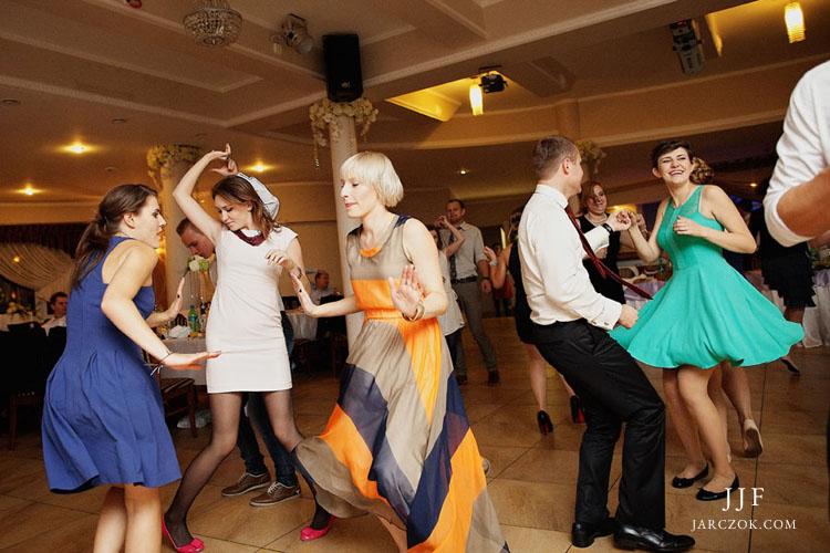 Szalona zabawa weselna w Markowym w Porębie Pszczynie.