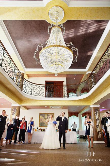Wnętrza Dworku Skawińskiego - wesele na zdjęciach.
