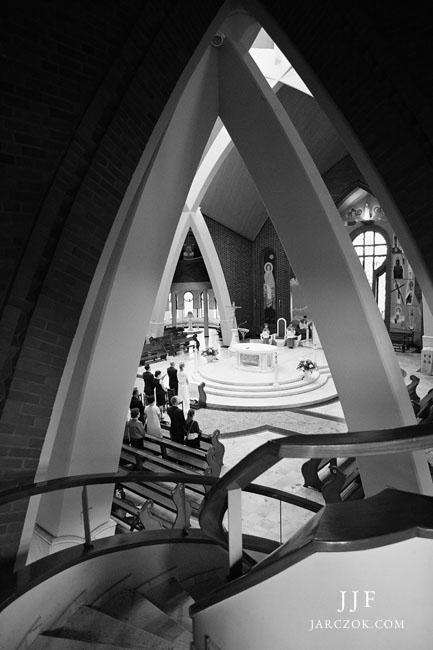 Ślub w Tychach w kościele Karoliny.