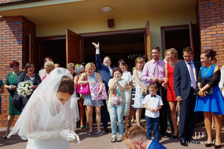 Ślub w Gliwicach starych.
