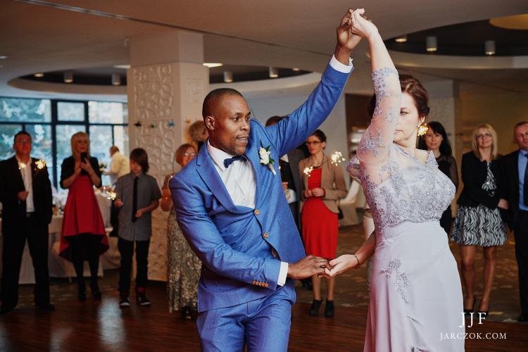 Polsko - kenijski ślub i wesele.