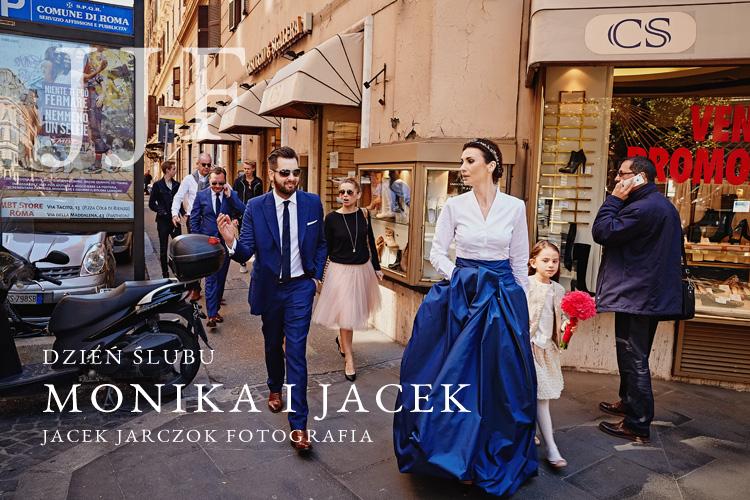 Zdjęcia z polskiego ślubu i sesji plenerowej w Rzymie we Włoszech.