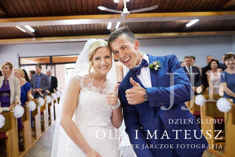 Ola i Mateusz - zdjęcia ślubne z Mikołowa.