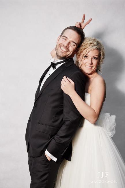 Zdjęcia ślubne w stylu Anji Rubik.