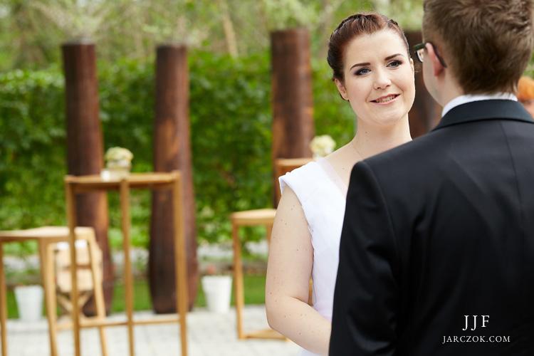 Zdjęcia ze ślubu plenerowego.