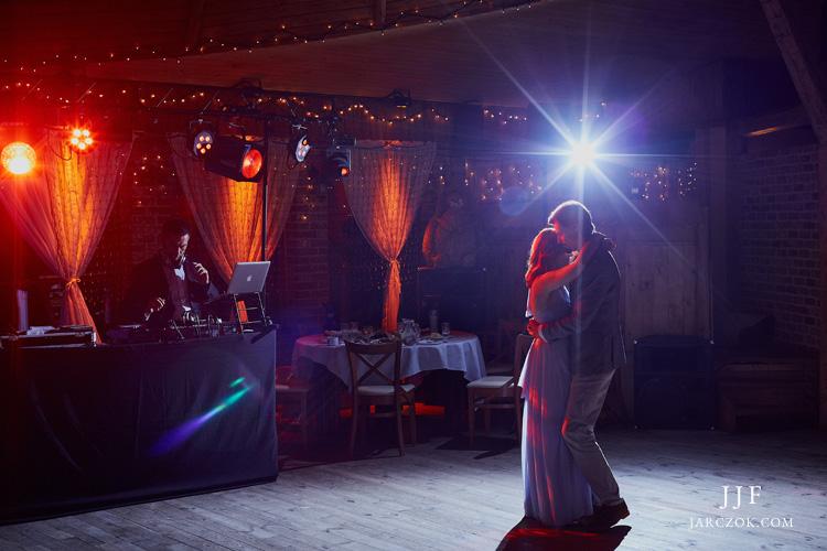 Kamienny Kasztel - wnętrza podczas zabawy weselnej.