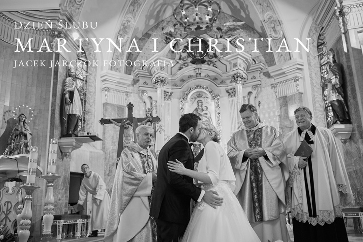 Zdjęcia ze ślubu Martyny i Christiana w Andrychowie.