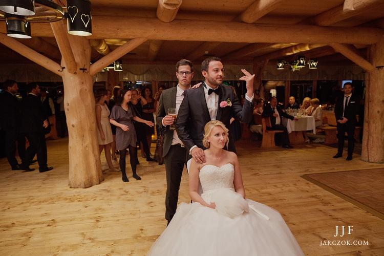 Międzynarodowe przyjęcie weselne w Hotelu Kocierz.