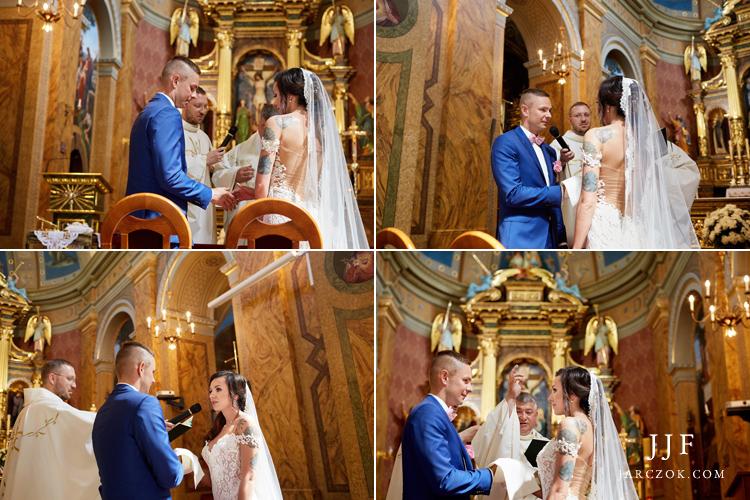 Ślub w Sanktuarium Św. Antoniego w Dąbrowie Górniczej.