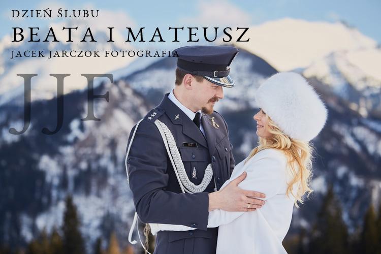 Zimowy reportaż ślubny z Zakopanego.