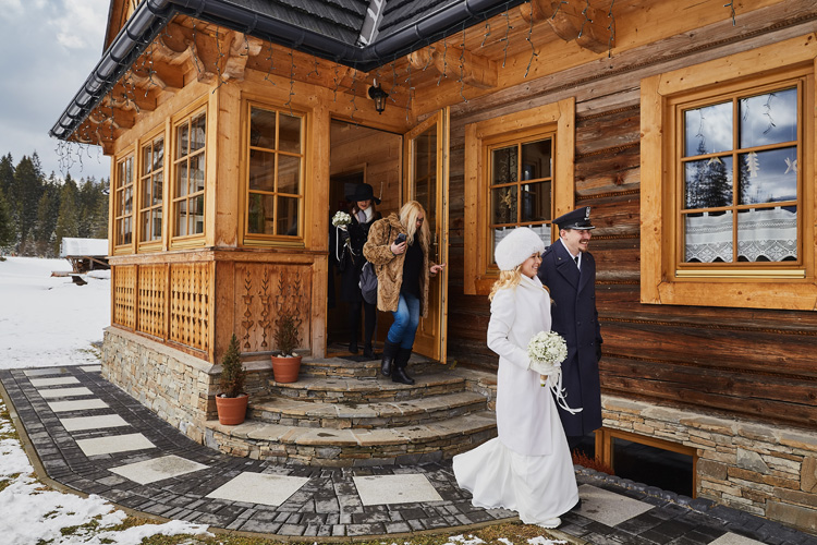 Wedding photography Zakopane Poland in Tatra Mountains.