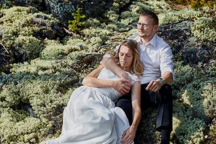 Wysmakowana fotografia ślubna.
