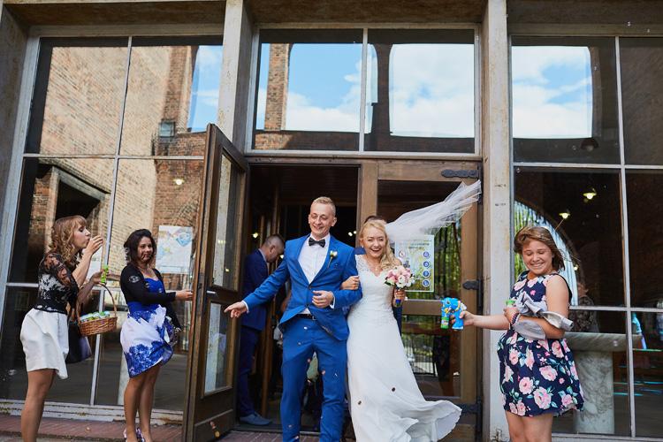 Ślub w parafii św. Józefa w Zabrzu na zdjęciach.