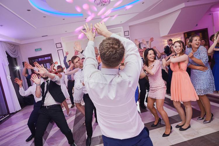 Przyjęcie weselne w Villa Marina w Dąbrowie Górniczej.