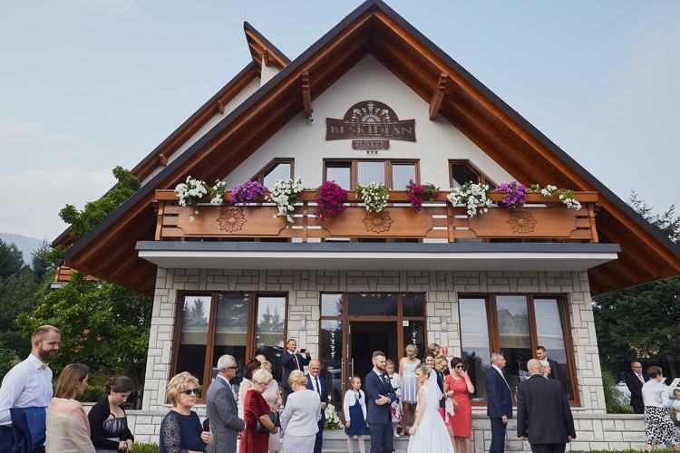 Wesele w Hotelu Beskidian w Węgierskiej Górce.
