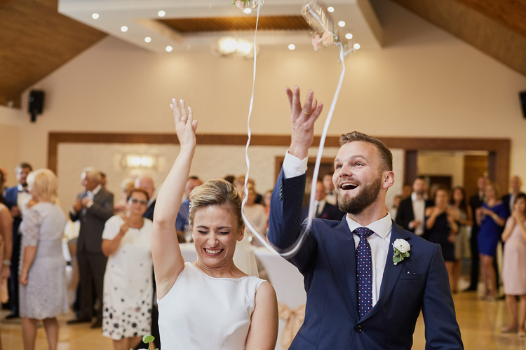 Przyjęcie weselne w Hotelu Beskidian.