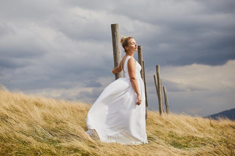 Sesja ślubna w górach Beskidach.